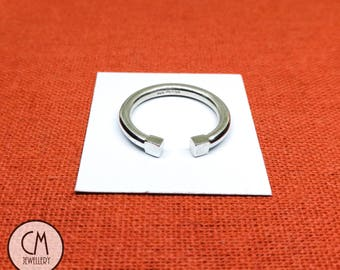Sterling Silver Torque Ring