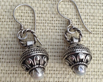 Moroccan Style Beaded Earrings