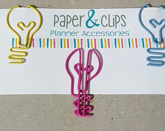 5 Light Bulb Paperclips
