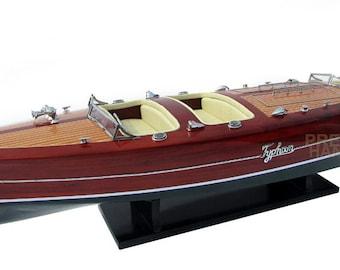 """39"""" Typhoon Wooden Model Boat"""