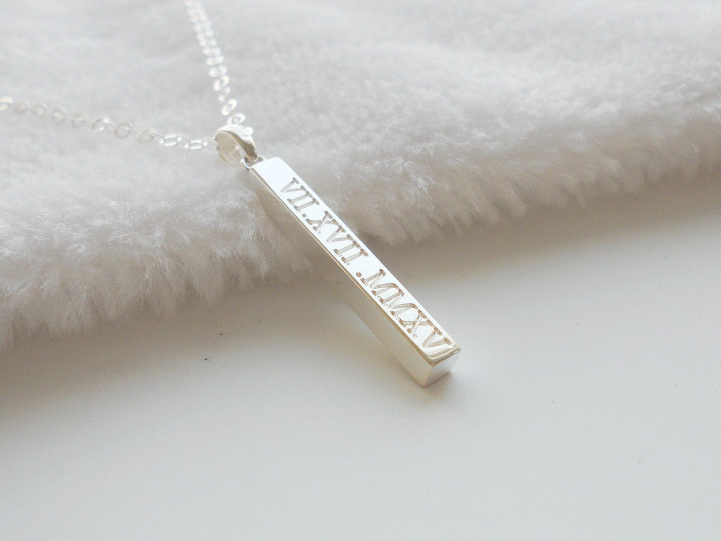 date products made mary skinny emmylowephotomadebymary by name bar hammeredskinnybar gold personalized necklace