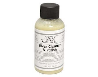 JAX Cleaner/Polisher for Silver - Instant Cleaner 2oz - 45-964