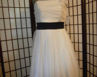 Women's Short Gown - One Strap