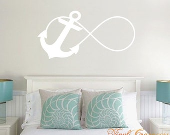 Anchor Infinity - Vinyl Wall Decal