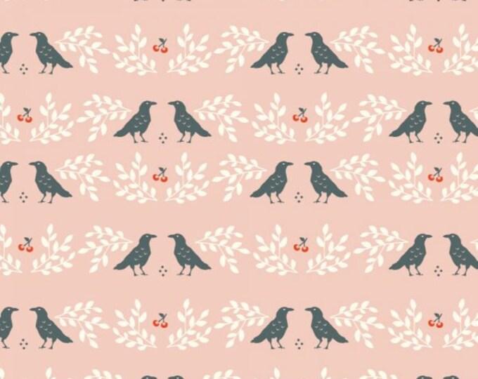 Organic KNIT Fabric - Birch Merryweather - Nevermore Knit