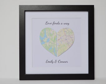 Dating Anniversary Gift for Boyfriend- Long Distance Relationship, moving away gift, deployment gift, long distance love gift for girlfriend