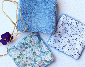 7 reusable wipes Microfiber