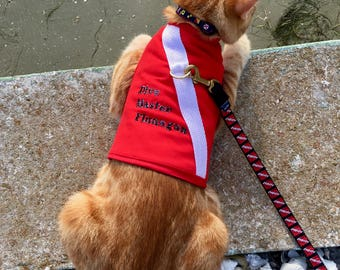 Dive Flag Dog/Cat Harness