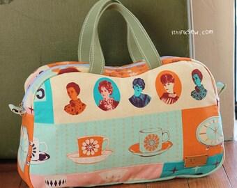 The Katie Boston Bag PDF Sewing Pattern (#253)