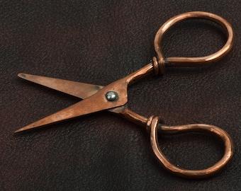 Scissor, copper vintage style each J536CO