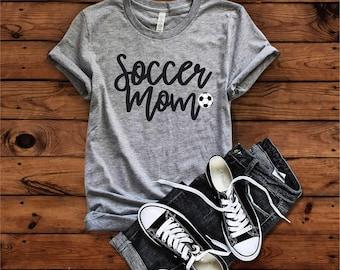 Soccer mom shirt | Etsy