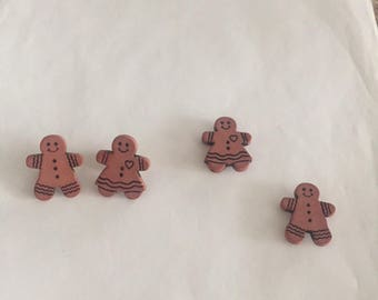 Cute Gingerbread Couple Accessories!