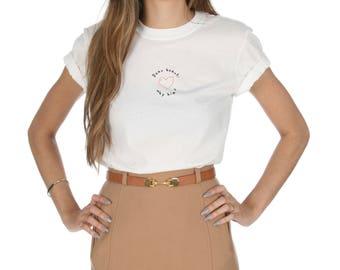 Dear Heart, Why Him? T-shirt Top Shirt Tee Fashion Grunge Minimalism Slogan