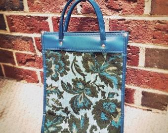Vintage MCM handbag/ purse/ makeup / book storage