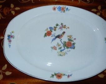 Czechoslovakian Bird Plate