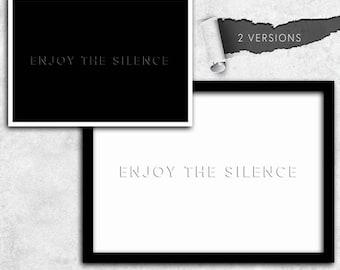 Depeche Mode enjoy the silence instant download A1 A2 A3 A4 A5 20 x 16-24 x 18-36 x 24 70 x 50 90 x 60 + US sizes