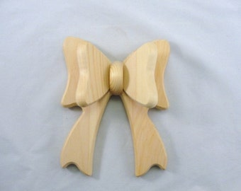 Wooden bow 3 dimensional DIY