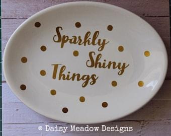 Trinket Dish   Ring Dish Jewellery Storage Tray