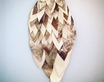 Owl Wing - Wall Hanging