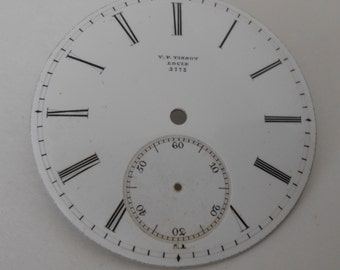 Tissot Pocket Watch Porcelain Dial (LOCLE 3772) New