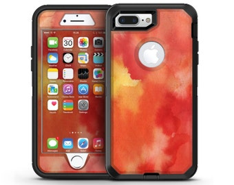 Red 53 Absorbed Watercolor Texture - OtterBox Case Skin-Kit for the iPhone, Galaxy & More