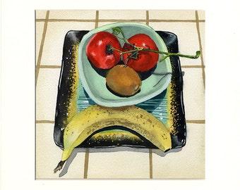 Sad Fruit 2 (Painting)