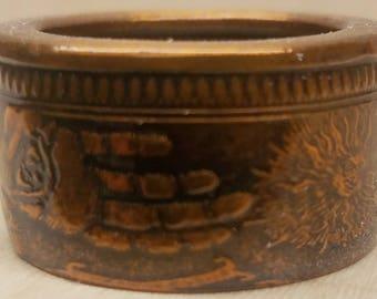 999 1 oz pure copper coin ring