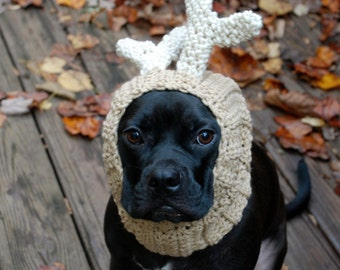 Dog Snood Deer MADE TO ORDER