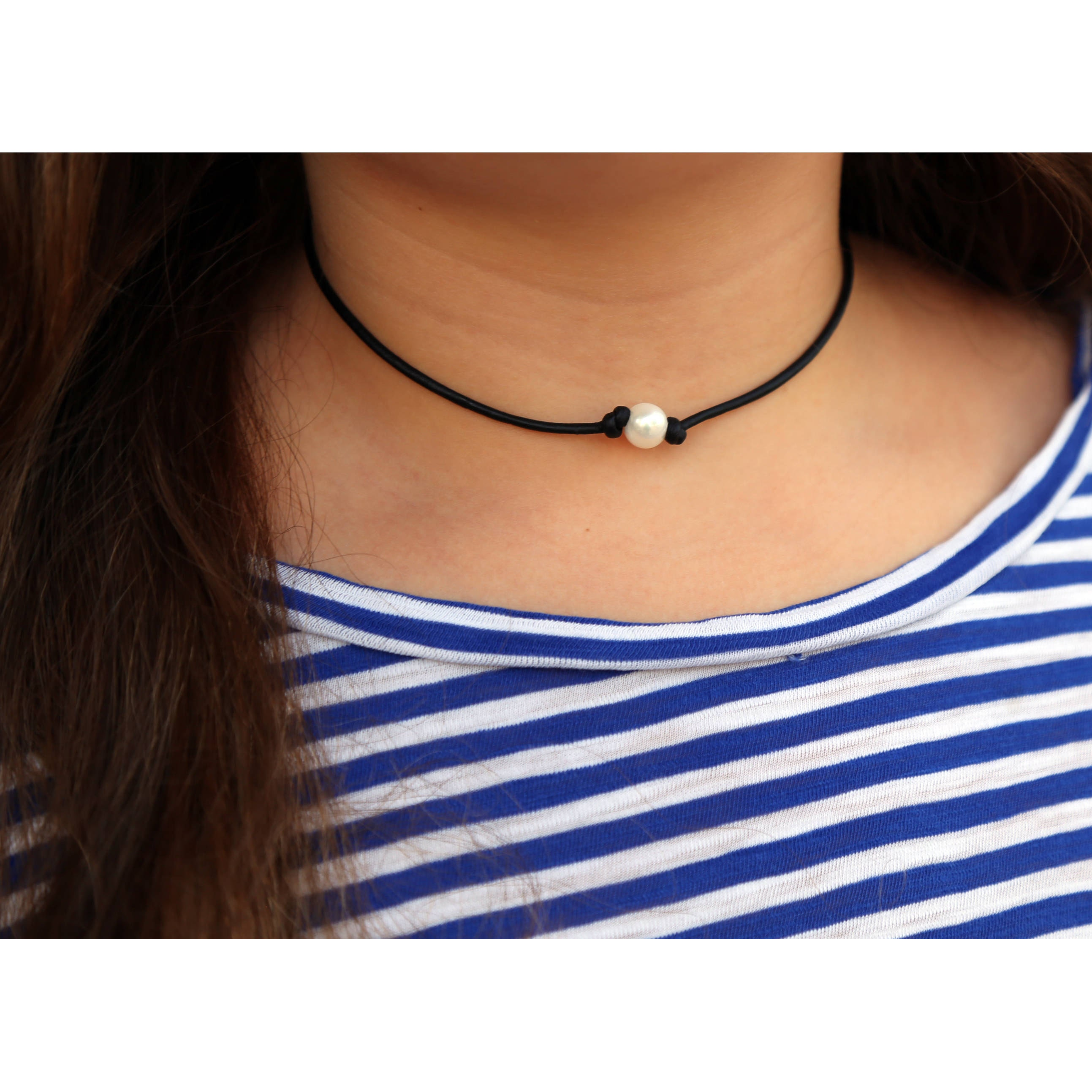 single pearl jewelry mya necklace product blue dainty index choker