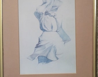 "Christine Rosamond 1976 Titled ""Wind Blown"""