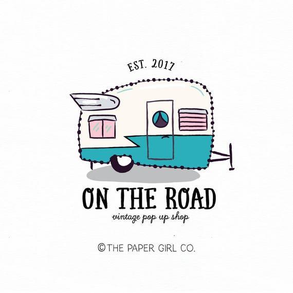 Shasta Caravan Logo Pop Up Shop Vintage Camper Boho