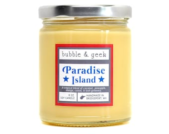Paradise Island Scented Soy Candle