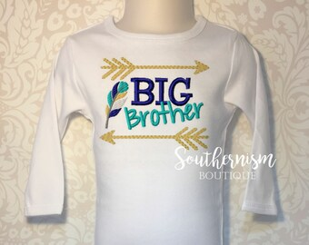 Big Brother shirt, Middle Brother Shirt, Baby announcement, sibling announcement, biggest brother, Sibling Shirts, coming soon, baby