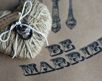 Be Married Custom Placemats