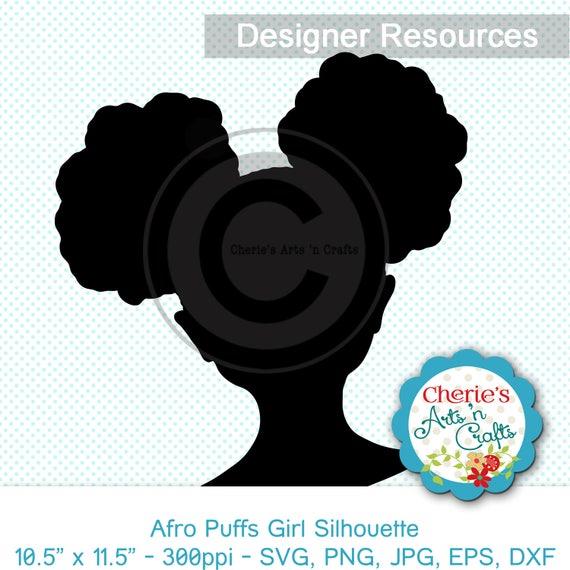 Afro Puffs Clip Art African Girl Clip Art Clipart For