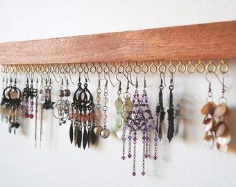 Earring holder - Jewelry holder Earring organizer Earring organiser Earring display Earring storage Jewellery holder Wall earring holder