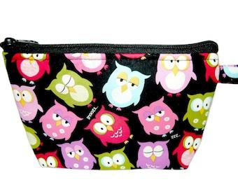 Owls Makeup Bag
