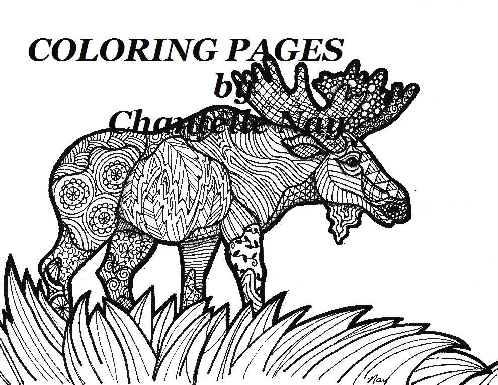 Magnífico Animal Avanzado Para Colorear Ornamento - Dibujos Para ...