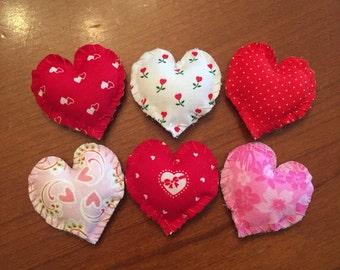 Dollhouse miniature heart Valentine's Day throw pillow Barbie doll