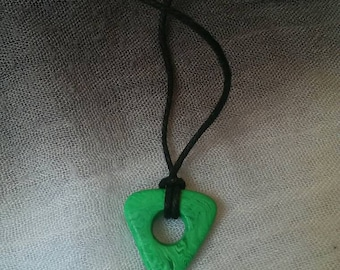 Coraline Looking Stone Necklace