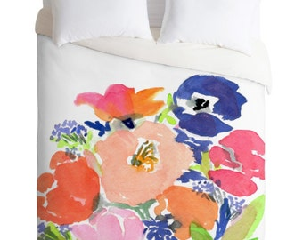 Floral Frenzy Duvet Cover