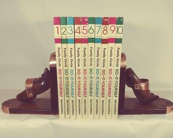 Ten Retro Family Circle Do-It-Yourself Encyclopedias