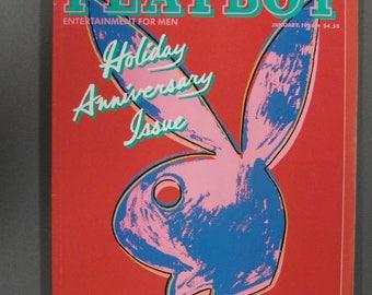 Playboy Magazine January 1986