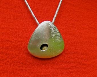 Connemara Silver Pebble Pendant