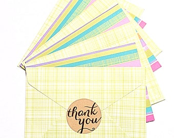 """Thank You stickers 