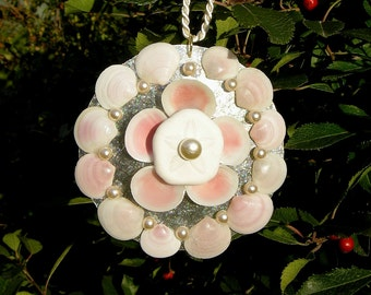 Pink - Holiday Ornament or Wedding Favor