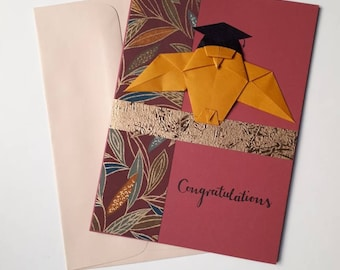 Origami Owl Graduation Card for college, university or high school graduate