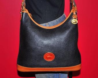 DOONEY BOURKE Vintage Handbag, Authentic Designer Bag, Dooney Hobo Shoulder Bag, Dooney Bourke Purse, Good Used Condition