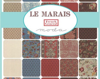 Le Marais by French General for Moda Charm Pack