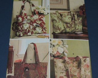 Uncut Butterick 5267 TOTE bag pattern